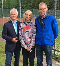 Förderung Tjark Kunkel - Tennis©KSB Nienburg